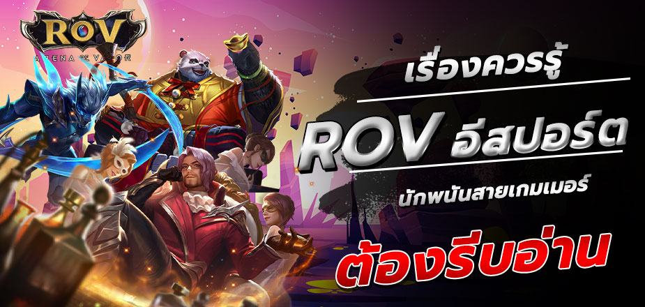 เรื่องควรรู้ของRoV